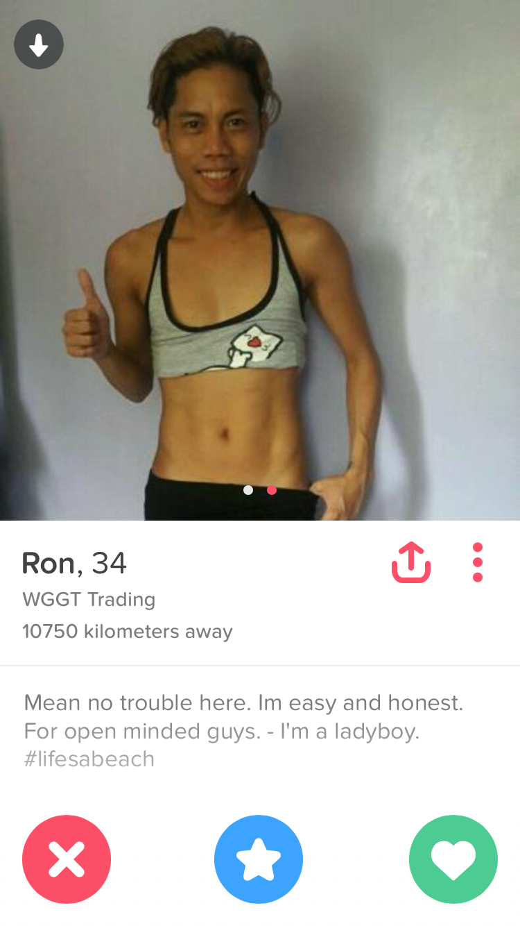 What does open minded mean on tinder